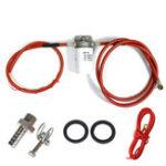 Оригинал 12V Топливный фильтр с 2 шт. Бензиновых труб Шланг Замена топливных линий топливного бака