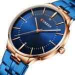 Оригинал CURREN8321FullSteelМужскиенаручные часы в стиле casual