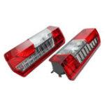 Оригинал Авто Задний задний фонарь Красный Лампа Объектив С левой + правой стороны для Ford Transit MK8 MKVIII 2014 г.в.