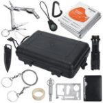 Оригинал 11 in1 SOS Emergency Кемпинг Оборудование для выживания Набор Набор На открытом воздухе Тактическое снаряжение для похода
