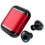 Оригинал Dual Bluetooth 5.0 TWS Наушники-вкладыши Smart Touch Водонепроницаемы HIFI Стерео Наушник с портативной зарядкой Коробка