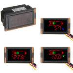 Оригинал Автомобиль Батарея Напряжение Питания Дисплей 12 В Turn 5V Бак Модуль Dual USB Автомобильный Блок Питания