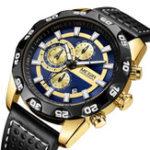 Оригинал MEGIR2096Роскошныйспортивныйстильхронограф Мужские кварцевые часы