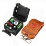 Оригинал 433MHz / 315MHz AC 220V 1CH 10A Реле Wireless Дистанционное Управление Switch Дистанционный Система выключателя света Приемник Передатчик Дистанционное Упра