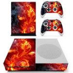Оригинал Color Series Дизайнерский скин для игровой приставки XBOX ONE S и 2шт наклейки контроллера