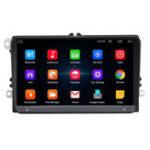 Оригинал 9 дюймов WIFI Bluetooth HD Авто Видеорегистратор MP5 Player Радио Стерео GPS навигация Для VW Volkswagen