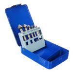 Оригинал 6шт 90 градусов 3 флейта зенкеровка конусный Дрель HSS бит Болт комплект с Коробка