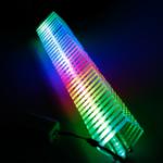 Оригинал DIY Square Audio Лампа Научное шоу Учебное оборудование Несколько вариантов цвета Динамик
