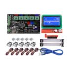 Оригинал MKS GEN V1.4 Материнская плата материнская плата + 12864 LCD Дисплей Экран + 5x A4988 Драйвер + 6x Концевой выключатель Набор Для 3D-принтер