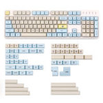 Оригинал Moonlanding 1969 165 Key XDA Profile Dy-sub PBT Keycaps Full Layout Keycap Set
