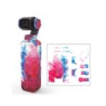 Оригинал Colorful / Камуфляжные наклейки камера Защитная пленка для кожи Водонепроницаемы Наклейки для DJI OSMO Карманный портативный Gimbal Аксессуары