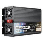 Оригинал 2000 Вт чисто синусоидальный инвертор DC12V / 24V / 48V / 60V TO 220V преобразователь напряжения инвертор