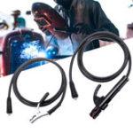 Оригинал 300A зажим заземления и сварка Зажим 1,5 м Провод для сварочного инвертора MMA ARC