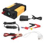 Оригинал 2 В 1 Авто Power Inverter Jump Starter Портативное зарядное устройство Батарея Power Bank T31 400 Вт DC 12 В К 220 В 5V 2.1A USB Батарея Бустер Power Bank