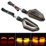 Оригинал 12V мотоцикл LED Индикаторы указателей поворота Для Kawasaki/Yamaha / BMW / Honda / KTM