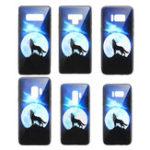 Оригинал BakeeyЗакаленноестеклоЗащитноеЧехолДля Samsung Galaxy S9/S9 Plus/S8/S8 Plus / Примечание 9/Note 8 Задняя крышка с защитой от царапин