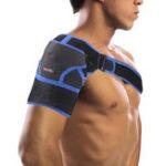 Оригинал Mumian G06 1PC Поддержка неопрена плеча На открытом воздухе Спортивная поддержка плеча Pad Wrap Фитнес Защитное снаряжение