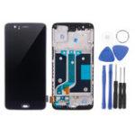 Оригинал Черный LCD Дисплей + сенсорный экран планшета замена с ремонтом Набор для Oneplus 5 A5000