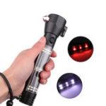 Оригинал XANES1290AXPEБелыйсвет+ красный свет USB Аккумуляторный фонарик Встроенный 1800mAh Батарея Мини LED фонарик