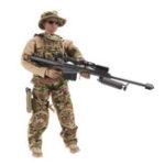 Оригинал 1/6 12 дюймов имитация фигурку солдата Кукла случайной доставки RC Авто частей