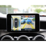 Оригинал Krando 1080P 3D 360 градусов матовая система ночного видения с панорамным видом Авто Видеорегистратор Объем вождения камера