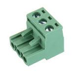 Оригинал 2 EDG 5,08 мм Шаг 3-контактный разъем Болт Клеммная колодка для печатных плат Коннектор под прямым углом