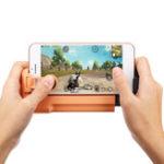 Оригинал Мобильный Геймпад контроллер джойстика Fire Trigger Shooter Кнопка для PUBG для правил выживания
