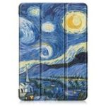 Оригинал Tri-Fold Печатный планшет Чехол Чехол для планшета Lenovo Tab E10 – Starry Sky