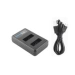 Оригинал Ruigpro LCD Dual Батарея Зарядное устройство для Gopro Hero / 7/6/5/4 SJcam 8 Sport камера Аксессуары
