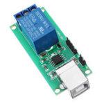 Оригинал 1-канальный 5V релейный модуль без привода USB-модуль коммутации управления 10A 250 В