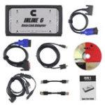 Оригинал INLINE 6 Адаптер канала передачи данных Сверхмощный Авто Диагностический сканер Инструмент Полный 8-канальный интерфейс тележки