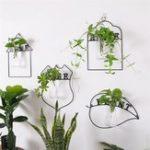 Оригинал Настенная зеленая Растение ваза для цветов Растениеer Коробка Горшок для цветов Домашний декор