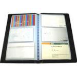 Оригинал Кожаные 300 карт Фирменное наименование ID Держатель кредитной карты Книга Чехол Keeper Card Органайзер