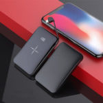 Оригинал Ци беспроводное зарядное устройство 10000mAh Mini Power Bank Портативное зарядное устройство Батарея для iPhone Android
