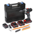 Оригинал 36V 6500mAh Cordless Power Drill Electric Screwdriver Drills Kit W/ 1/2/3Pcs Li-ion Battery
