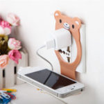 Оригинал Универсальныйскладнойкабель,организованныйдлязарядки, настенный держатель для iPhone Xiaomi Mobile Phone