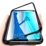Оригинал Bakeey360°МагнитнаяАдсорбционнаяМеталлическая Закаленное Стекло Защитная Флип Чехол для Huawei Y92019