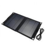 Оригинал DC 12V / 5V USB Портативный 25W Солнечная Панель Mobile Sun-Power Батарея Зарядное устройство