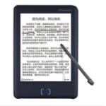 Оригинал Считыватель электронных книг Сенсорный экран для чернил 8G + 32G 6 дюймов EPD 1024 x 758 Wifi TTS Voice Technology Ручка Note Ebook Reader
