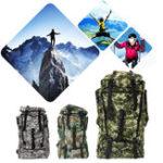 Оригинал 90L Водонепроницаемы Nylon Многофункциональный рюкзак На открытом воздухе Тактический альпинизм Сумка