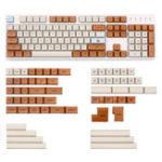 Оригинал Mars Colony 2035 162 Key XDA Profile Краситель-колпачок PBT Набор ключей Полный набор ключей