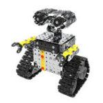Оригинал Mofun DIY из нержавеющей стали RC робот раздвижной блок здания собрал робот игрушка