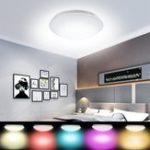 Оригинал 48W Умный потолочный светильник Лампа RGB + W WiFi Control для Echo Alexa Google AC85-265V