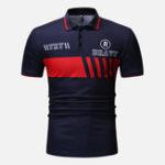 Оригинал МужскоеписьмоспринтомMuscleFit Golf Рубашка