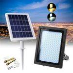 Оригинал Solar Power 150 LED Прожектор На открытом воздухе Сад Path Лампа Руководство по управлению освещением