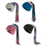 Оригинал Smart Wireless Bluetooth 4.2 Музыка Шапка Вязаная шапка для наушников Шапка С Микрофон