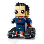 Оригинал MoFun DIY 2.4 Г 4CH Электронный RC Смарт-Робот Блок Сборка Робот Игрушка в Подарок