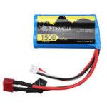Оригинал PXtoys 7,4 В 1500 мАч 15C 2S T Plug Lipo Батарея для 9200 9202 1/12 Rc Авто Запчасти PX9200-46
