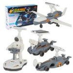 Оригинал Милый солнечный свет STEM 4In1 Солнечная Приведенная в действие игрушка космического исследования флота Подарочные игрушки