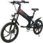 Оригинал SamebikeXW-20RWDeluxeEdition350Вт Smart Bicycle Folding 7 Speed 48 В 10.4AH Электрический велосипед 35 км / ч Макс. Скорость ЕС Plug E-bike